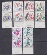 Monaco 1980 Olympic Wintergames 6v (pair) ** Mnh (37458) - Monaco