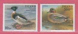 1997 ** Islande  (sans Charn., MNH, Postfrish)  Yv  815/6Mi  862/3 - 1944-... Republik