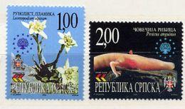 BOSNIAN SERB REPUBLIC 2000 Nature Protection MNH / **.  Michel 183-84 - Bosnia And Herzegovina