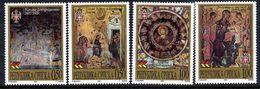 BOSNIAN SERB REPUBLIC 2000 Ikons And Frescoes MNH / **.  Michel 192-95 - Bosnia And Herzegovina