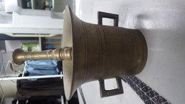 Ancien Pilon En Bronze, 19ème. Origine Pays De L'est - Other Collections