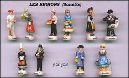 Fèves : Régions De France - Personnages