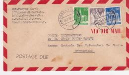 Brief Von Landsberg In Die Schweiz (br2913) - American/British Zone