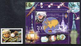 BOSNIAN SERB REPUBLIC 2001 First Manned Space Flight MNH / **.  Michel 197, Block 4 - Bosnia And Herzegovina
