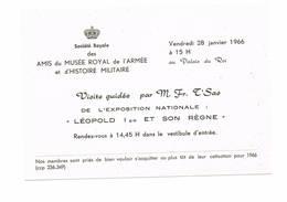 Uitnodiging Legermuseum - Announcements