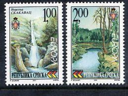 BOSNIAN SERB REPUBLIC 2001 Europa: Water Preservation MNH / **.  Michel 200-01 - Bosnia And Herzegovina