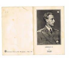 Kalender Leopold 3 1939 - Small : 1921-40