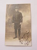 Carte Postale Militaire Sous Lieutenant 24ème Alpin 1911 - Guerra 1914-18