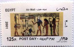 ُEGYPT 2001 Post Day Pharonic Scene [MNH] (Egypte) (Egitto) (Ägypten) (Egipto) - Unused Stamps