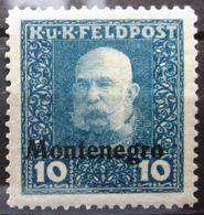 AUTRICHE-HONGRIE  Occupation MONTENEGRO               N° 3              NEUF* - Montenegro