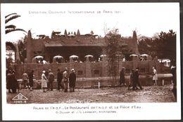 Exposition Coloniale  Internationale De Paris 1931 - Palais De L'Afrique Occidentale Française AOF - Le Restaurant - Sup - Expositions