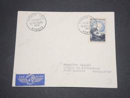FRANCE - Enveloppe FDC De Noguès ,  De Rennes Pour Madagascar Par Avion En 1951 - L 12841 - FDC
