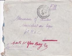 WORLD WARs 1940's-FRANCHISE MILITAIRE  FULL CONTENT ENVELOPPE SAIGON CONCHINCHINE TO YEN BAY TONKIN-TBE-BLEUP - 1932-45 Manchuria (Manchukuo)