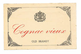 Cognac Old Brandy - Etiquettes