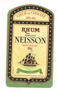 Etiquette   RHUM  Agricole  NEISSON - 55° 100cl -  Coeur De Chauffe - Thieubert-Carbet - MARTINIQUE - - Rhum