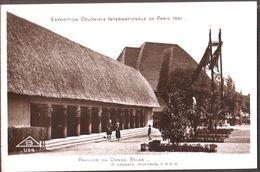 Exposition Coloniale  Internationale De Paris 1931 -  Pavillon Du Congo Belge - Expositions