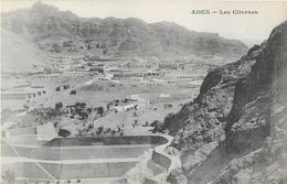 Yémen: Aden, Les Citernes - Messageries Maritimes - Carte Dos Simple, Non Circulée - Yemen