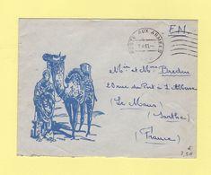 Poste Aux Armees AFN - 7-4-1960 - Algérie (1924-1962)