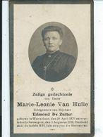 B.P. FOTO   WAARSCHOOT VAN HULLE MARIE 1876 - 1928 ZOMERGEM - Religion & Esotericism