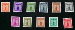 2. März 1942 Dienstmarken Der Partei Postfrisch Xx Siehe Scan - Deutschland