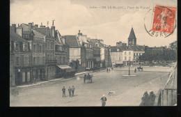 36 -- Le Blanc --  Place Du Marche - Le Blanc