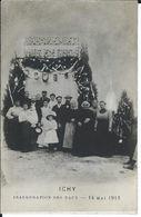 CPA Photo - 77 - ICHY - Inauguration Des Eaux - 14 Mai 1911 - BRECHEMIER VIN EN GROS - Très Bon état - - Zonder Classificatie