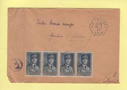Ain Tellout - Oran - 18-2-1943 - Destination Geneve - Algeria (1924-1962)