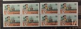 Canada - Cartier   2 Blocs De 4 En ** / MNH  - - 1952-.... Reign Of Elizabeth II