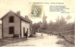 812 - MERDRIGNAC (C DE N)   ARRIVÉE DE ST-LAUNEUC - France
