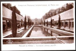 Exposition Coloniale  Internationale De Paris 1931 - Pavillon Du Maroc - Sueprbe Carte ! - Expositions