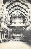 Inde: Trichinopoly (Trichy, Tiruchirappalli) Intérieur De La Pagode - Carte Non Circulée - Sri Lanka (Ceylon)