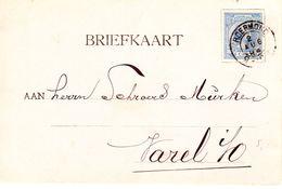 Bk  Van Roermond Naar Varel Met Kleinrond Op NVPH 35 - Periode 1891-1948 (Wilhelmina)