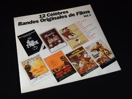 Vinyle 33 Tours  12 Célèbres Bandes Originales De Films   (1982) - Vinyl Records