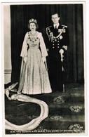 H.M. The Queen And H.R.H. The Duke Of Edinburgh (pk41806) - Royal Families