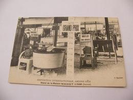 Carte Postale 80 Exposition Internationale Amiens 1909 Stand De La Maison Mahot à Ham - Amiens