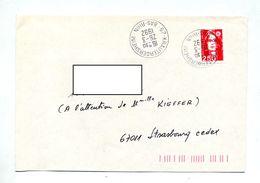 Lettre Cachet Krautergersheim - Marcophilie (Lettres)