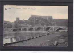 HUY CITADELLE  Collegiale Vieux Pont - Huy