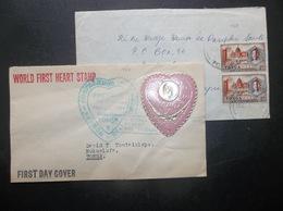 Tonga: 1963 & 1964 Covers To Tonga (#BA10A) - Tonga (...-1970)