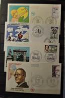France - 4 Lettres FDC - 1er Jour - Stamps