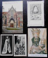 Tongres Tongeren Lot 5x Image Pieuse + Priere +canivet Notre Dame Tongre +cp Portail église Jos Van Den Born 1913 - Tongeren