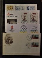 France - 4 Lettres FDC - 1er Jour - Collections (without Album)
