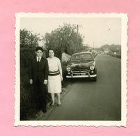 PHOTOGRAPHIE - PHOTO - PEUGEOT 403 - - Automobiles