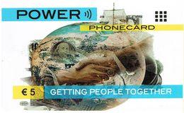 PHONECARDS-PORTUGAL ---  PRÉ PAID- 5 €-PORTUGAL---PARA OUTROS PAÍSES - Portugal