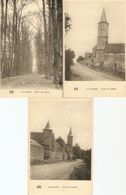 Les Waleffes ( Faimes ) : Tours De Château --- 3 Cp - Faimes