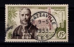 AEF YV PA 56 Obliteration Centrale Brazzaville - A.E.F. (1936-1958)
