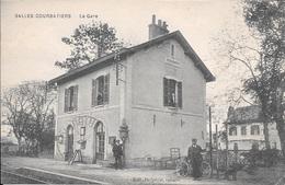 SALLES-COURBATIERS - La Gare. - Francia