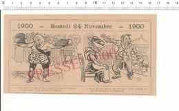 2 Scans Humour 1900 Homme Fort Foire Forain Poids (haltérophilie) Voyante Ramasseur De Crottins Petits Métiers 216PF10M - Old Paper