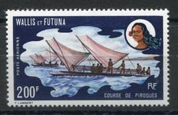 RC 6978 - WALLIS ET FUTUNA PA 43 - 200F COURSE DE PIROGUES COTE 53€ NEUF ** TB - Neufs
