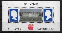 U.K. Sheet Philatex Woburn 1968 - Marcophilie
