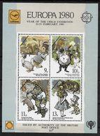 U.K. Sheet Europa 1980 Year Of The Child Lufthansa - Blocks & Miniature Sheets